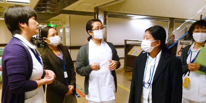 ミャンマー連邦共和国 ヤンゴン看護大学から教員が訪問見学