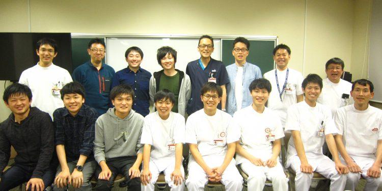 男性看護師会の歓迎会を開催しました